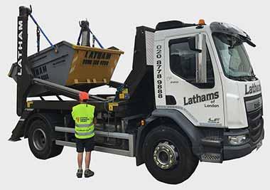 latham skip hire waste disposal recycling in sydenham. Black Bedroom Furniture Sets. Home Design Ideas